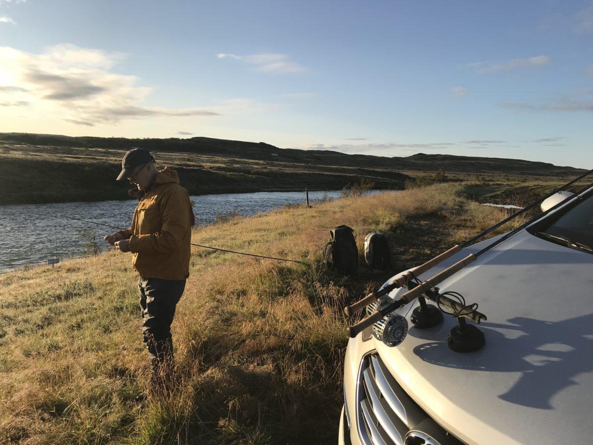 islanti iceland tungufljot salmon lohi lax perhokalastus flyfishing flugfiske